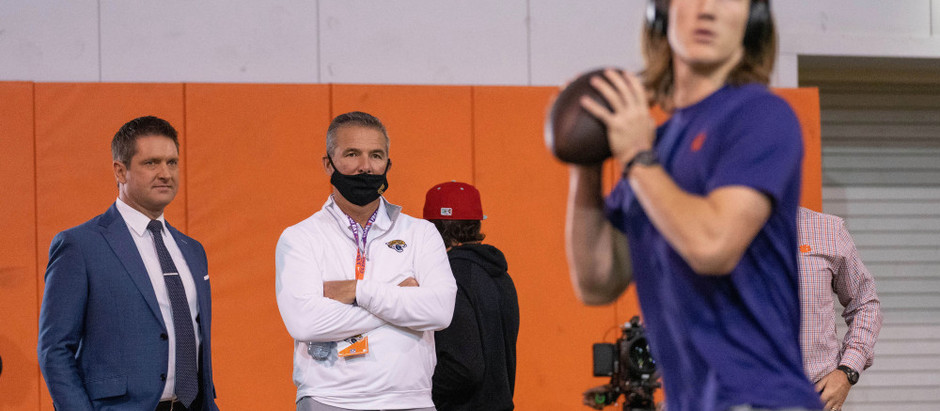 Trevor Lawrence feels like his recovery from his injury is ahead of schedule