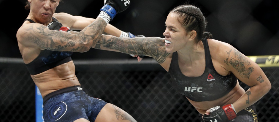 Amanda Nunes destroys Megan Anderson in the first round to retain the Women's featherweight title