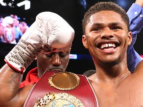 Shakur Stevenson flexes his star power capturing WBO title via 10th round TKO