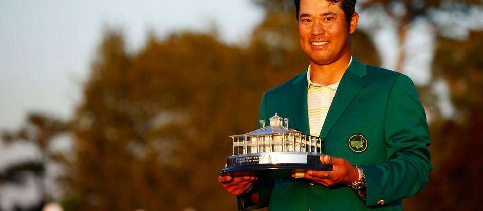 Hiseki Mastuyama breaks history at Masters