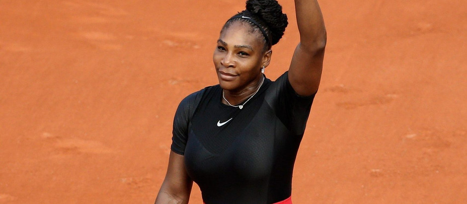 Serena Williams escapes a trap match with Irina Camelia Begu in the first round 7-6, 6-2