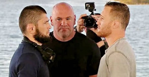 Khabib  Nurmagomedov looks to pose a threat to Justin Gaethje
