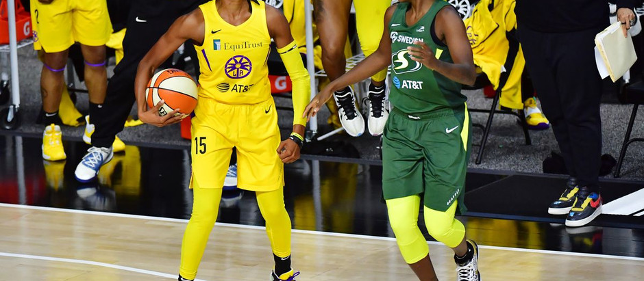 In a grind it out game against the Sparks, the Storm pulls out the 71-62 victory