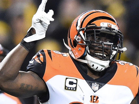 Bengals player recognized for helping the youth out