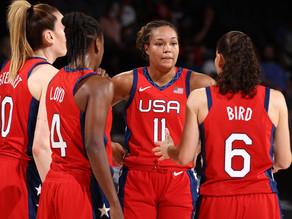 Team USAWB defeats France 93-82 to keep their Olympic streak going