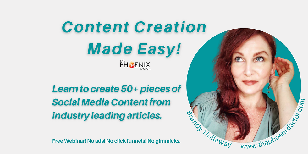 How to create 50 pieces of content from 1 article in your industry