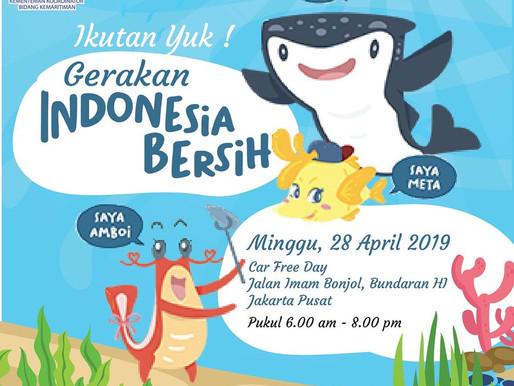 Kurangi Sampah Plastik, Pemerintah Gulirkan Gerakan Indonesia Bersih