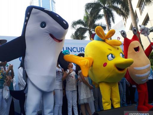 Udang, Hiu, dan Kepe-kepe Jadi Maskot Gerakan Indonesia Bersih