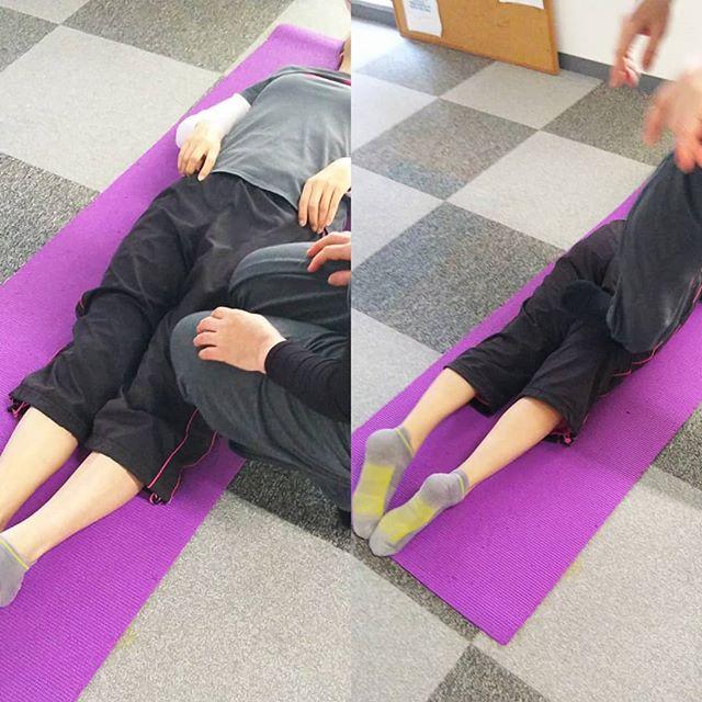 ストレッチ後に行っている、大腿と肩ほぐし とても痛いのですが、後がスッキリすれの