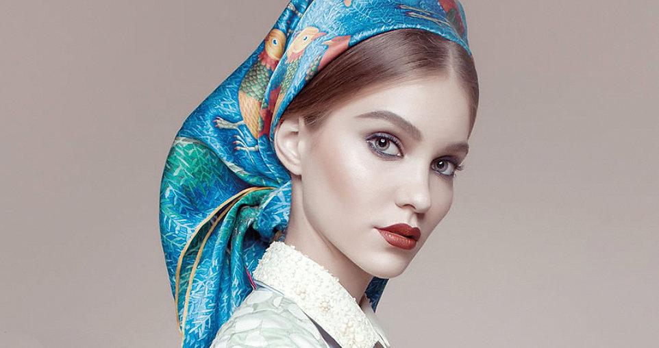 Kirill Ovchinnikov - шёлк, платок, аксессуары, декор, плитка, фарфор