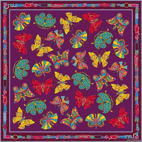 Butterflies in violet