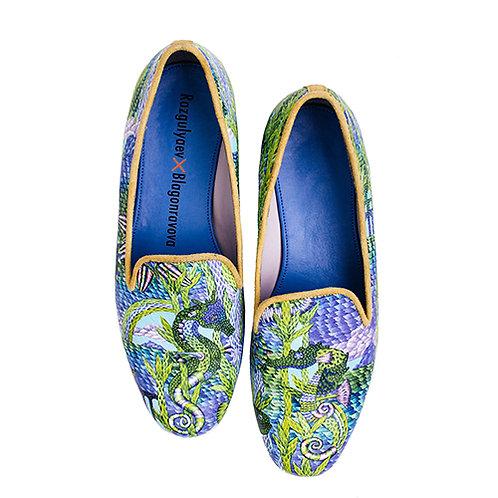 Seahorses slippers