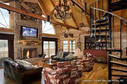 Arkansas Log Home Honest Abe 4