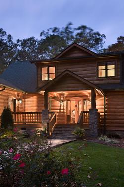 Arkansas Log Cabin Honest Abe 1