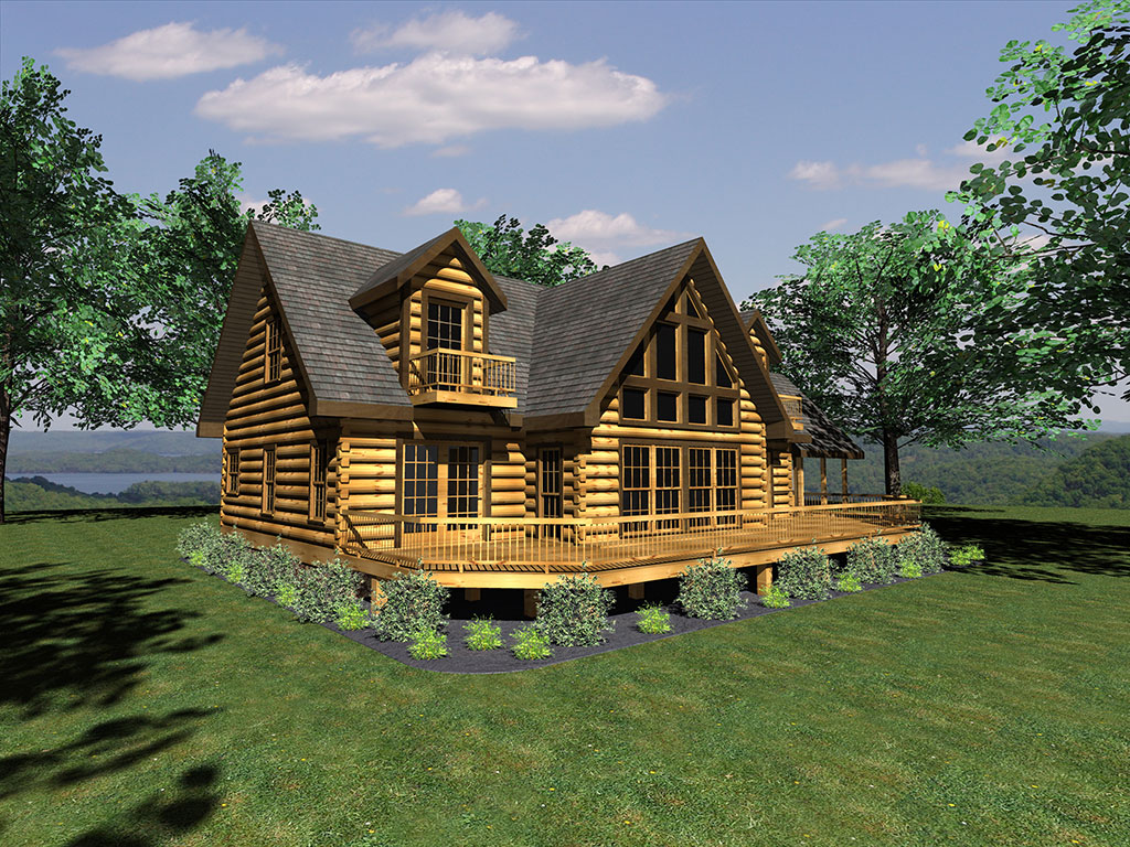 Floor Plans for Log Homes and Cabins