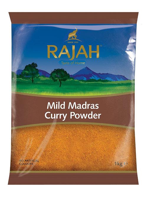 Rajah Mild Madras Curry Powder 1KG