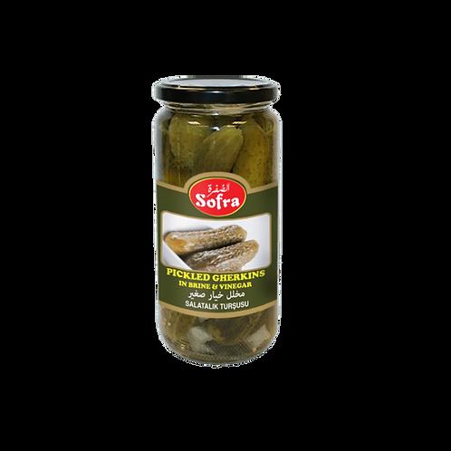 Sofra  Pickled Gherkins 480G
