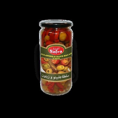 Sofra Jalapeno & Olive Salad 480G