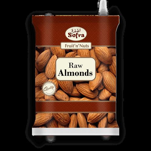 Sofra Raw Almonds 500G