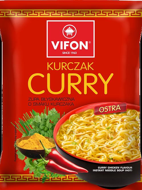 Vifon Chicken Curry Noodle Soup (Zupa Kurczak Curry) 70 Gr