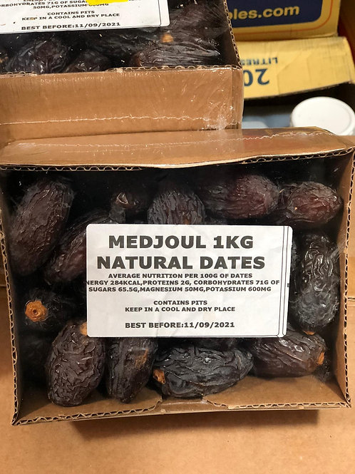 Medjoul Natural Dates 1KG