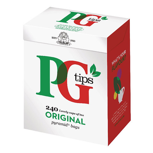 PG Tips 240 Bags