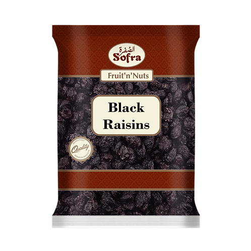 Sofra Black Raisins With Seeds