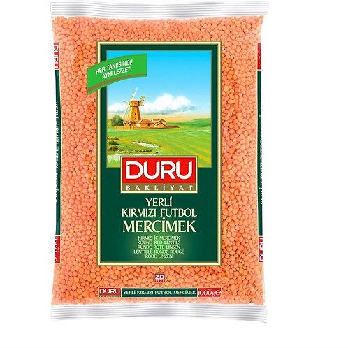 Duru Round Red Lentils 1000G