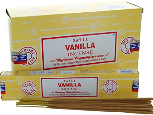 Satya Vanilla Incense 15GR