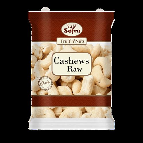Sofra Raw Cashews 450G