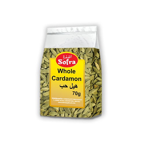 Sofra Whole Cardamom 70g