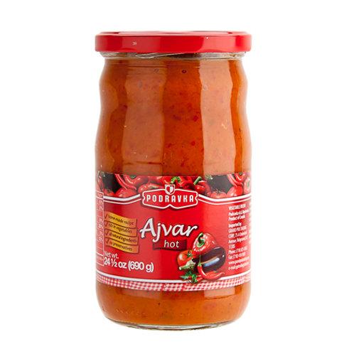 Podravka Hot Ajvar 690 Gr