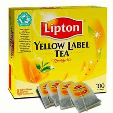 Lipton Yellow Tea 100 Bags