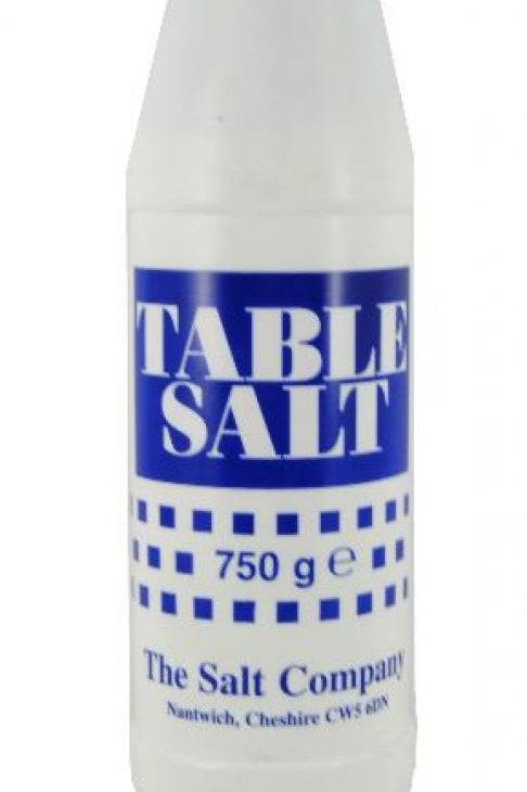 S/C Table Salt 750G