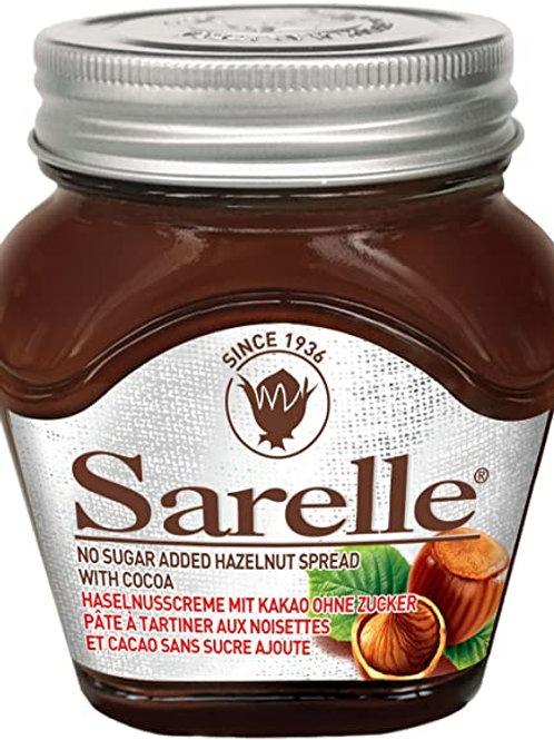 Sarelle Hazelnut Spread NO ADDED SUGAR with Cocoa 350 Gr