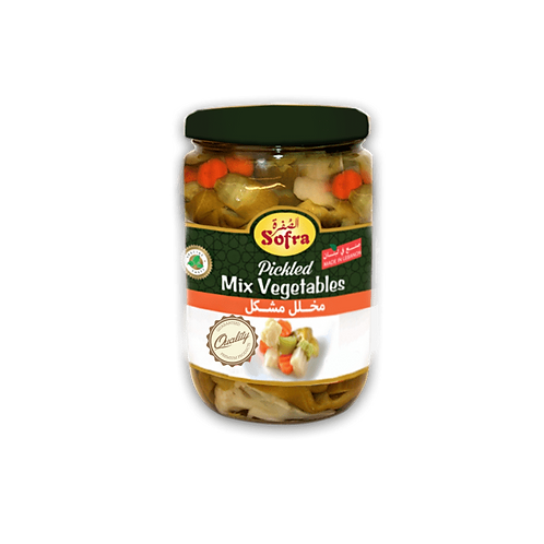 Sofra Mixed Pickles 600G