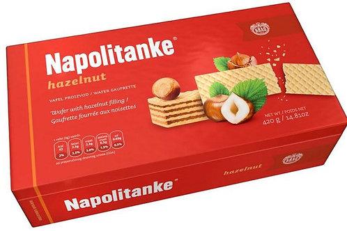 Kras Napolitanke (Block) Hazelnut Wafers 420 Gr