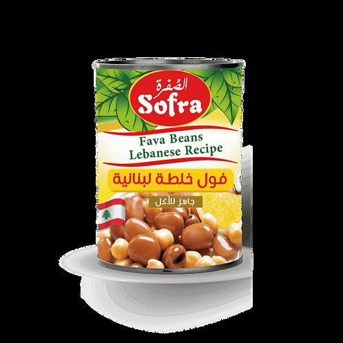 Sofra Foul Fava Beans Lebanese Recipe 400G