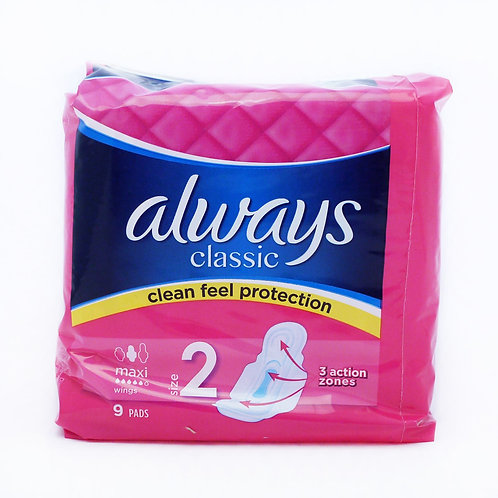 Always Maxi Classic 9 Pads