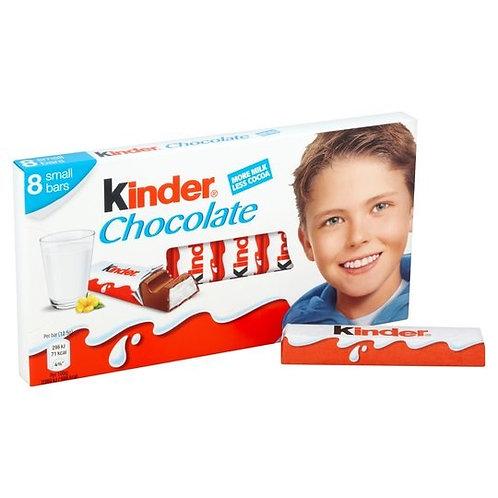 Ferrero Kinder Chocolate 100 Gr