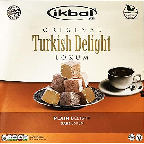 IKBAL - Plain Turkish Delight 400 Gr
