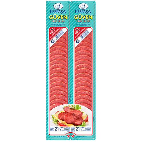 Efepasa Sliced Sausage (Sucuk) Twin Pack 2x250gr
