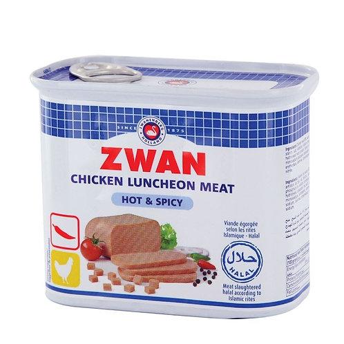 Zwan Chicken Luncheon Meat (Hot & Spicy) 340 Gr