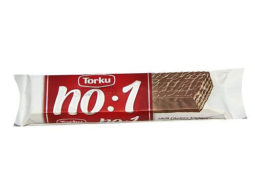 Torku No: 1 Milk Chocolate Coated Wafer 35 Gr