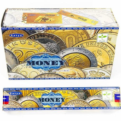 Satya Money Incense 15GR