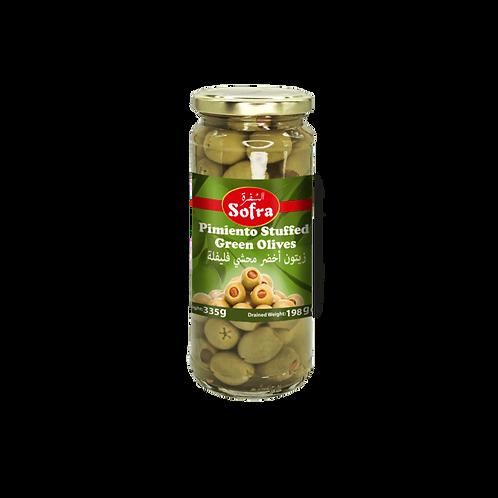 Sofra Stuffed Green Olives 330G