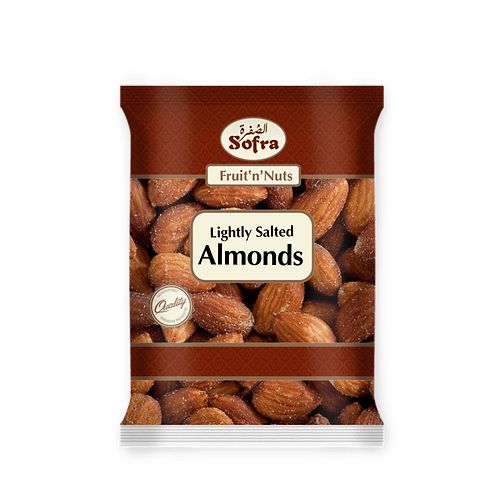 Sofra Lightly Salted Almonds 180G