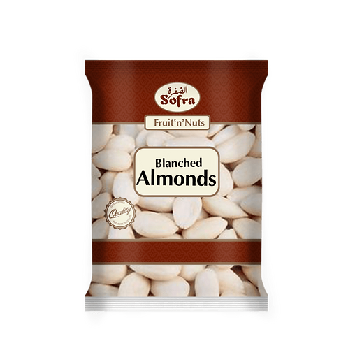 Sofra Blanched Almonds 180G