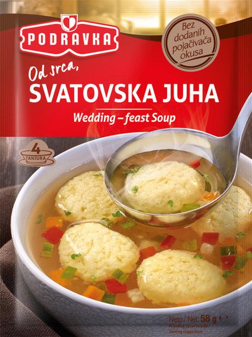 Podravka Wedding Soup 58 Gr