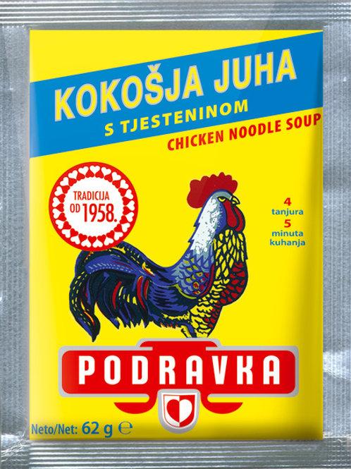 Podravka Chicken Noodle Soup 62 Gr